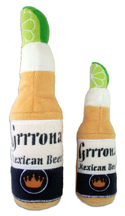 Grrrona Beer Dog Toy