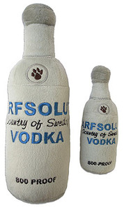 Arfsolute Vodka Dog Toy