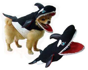 Killer Whale Dog Costume