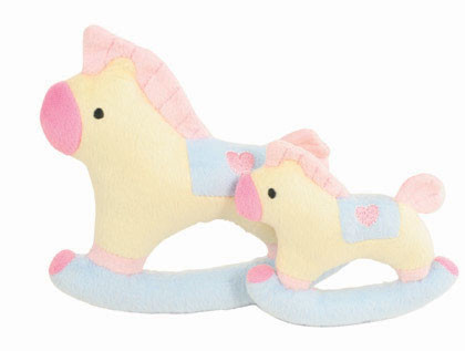 """Baby"" Rocking Horse Dog Toy"
