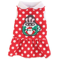 Christmas Cocoa Dog Dress