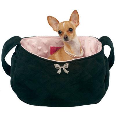 Coco Bow Snuggle Sack