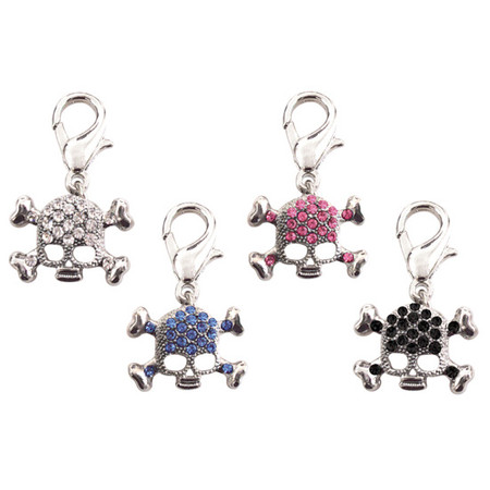 Skull D-Ring Dangler Charms
