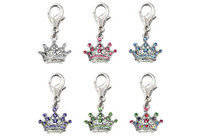 Royal Crown D-Ring Dangler Charms
