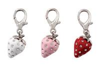 Strawberry D-Ring Dangler Charms