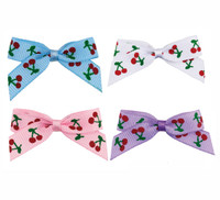 Jubilee Cherry Dog Bows