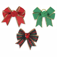 Holiday Glam Dog Bows