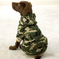 Camo Dog Hoodie