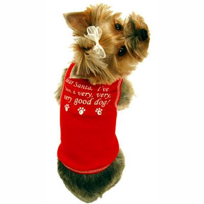 Dear Santa Dog Tank