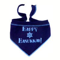 Happy Chanukah Dog Scarf