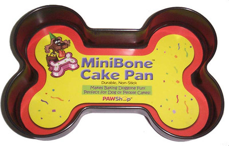 """Mini Bone"" Dog Bone Shaped Cake Pan"