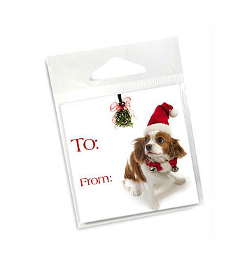 King Charles Holiday Gift Tags