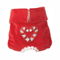 Winter Wonderland Dog Bloomers