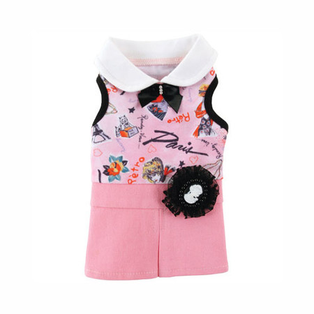 Mademoiselle Dog Dress