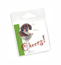Wienertini Holiday Gift Tags