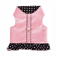 Pearl Polka Dot Harness Dress
