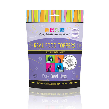 Real Food Toppers Pure Beef Liver