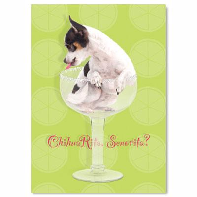 ChihuaRita Birthday Card