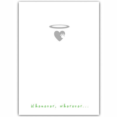 Pet Condolences Card I