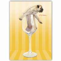 Pug Friendship Card