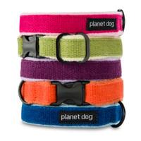 Planet Dog Natural Hemp Adjustable Collar