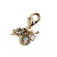 PupCHARMS! Vintage Angel Charm