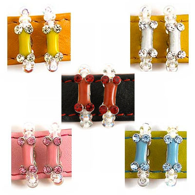 PupCHA-CHAS! Dog Bone Sparkle Charms