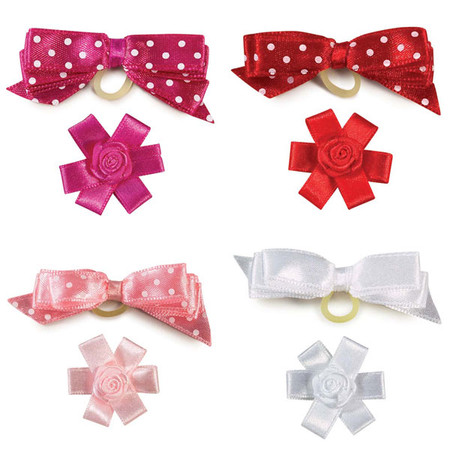 Sugar Pie Dog Bows