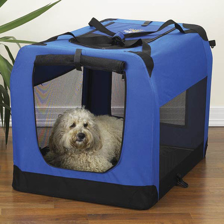 Soft-Sided Collapsible Dog Crates