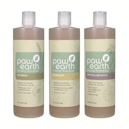 Paw Earth Natural Pet Shampoos