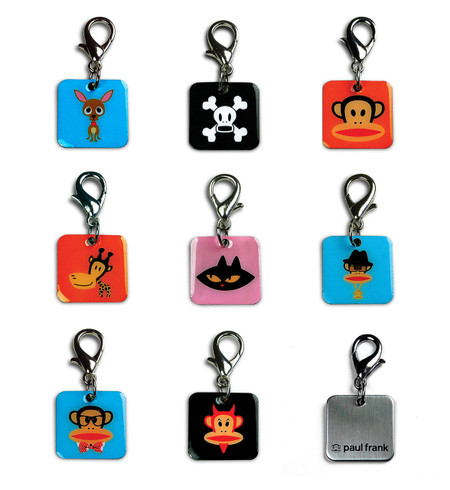 Paul Frank Dog Collar Charms