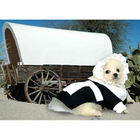 Pilgrim Girl Dog Costume