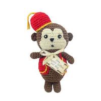 Fez Monkey Organic Toy