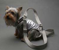 Silver PAWlish PuppyPurse