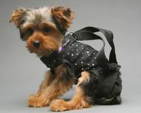 Disco Dog Black PuppyPurse
