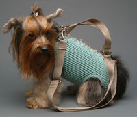 Woofle n Beads Mint PuppyPurse