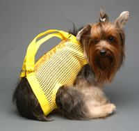 Woofle n Beads Yellow PuppyPurse