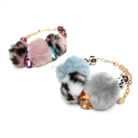 Louisdog Leo POMPOM Dog Necklace