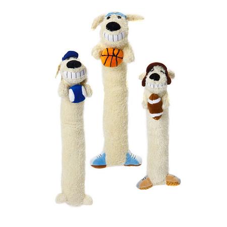 Sports Loofa Dog Toys