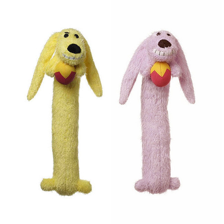 Easter Bunny Loofa Dog Toys