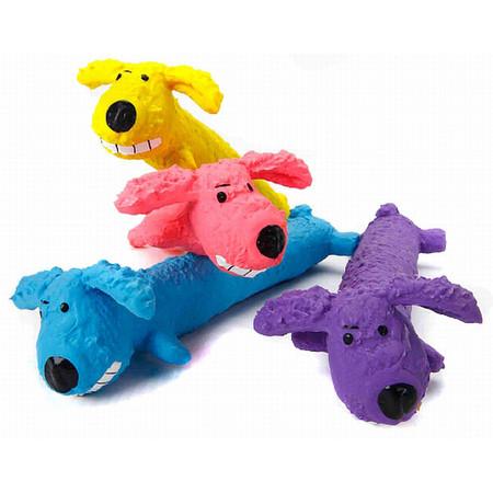 Textured Latex Loofa Dog Toy