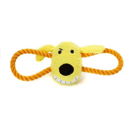 Tug Loofa Dog Toys