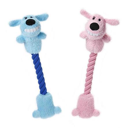 Rope Tug Loofa Dog Toys