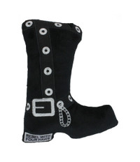 Motorcycle Boot Dog Toy