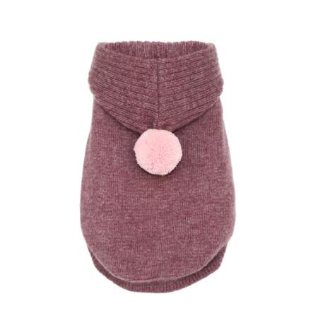Cashmere Dog Hoodie Sweater