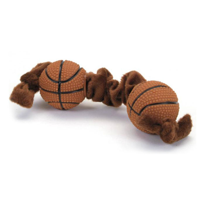 Small Toy Basketball : Small basketball tug toy