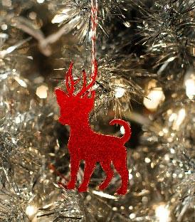 Rein-Dog Ornament