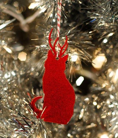 Rein-Cat Ornament