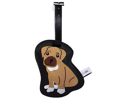 Dog Luggage Tags (Boxer)