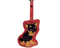 Dog Luggage Tag (Miniature Pinscher)